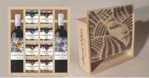 frutta secca e vino legno